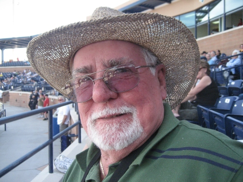 Padres-Royals Game in Peoria 2-29-2008 097