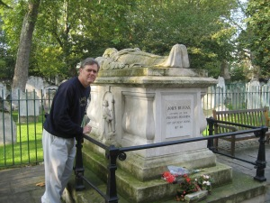 Tomb of John Bunyan, Bunhill Fields, London
