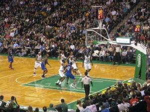 Celtics-76ers Game Nov. 9, 2012 114