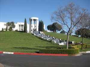 Al Jolson's Memorial @ Hillside Memorial Park, Culver City, California