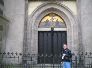 Place where Luther posted his 95 Theses, Castle Church
