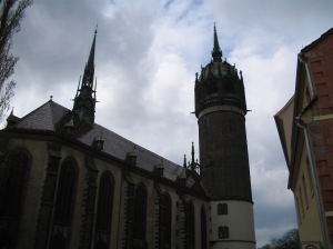 Castle Church in Wittenburg, Germany
