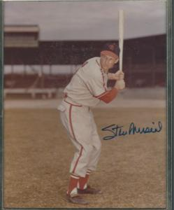 Stan Musial Signed Photo