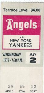 Ticket Stub May 2, 1979