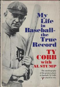 Ty Cobb Book Cover