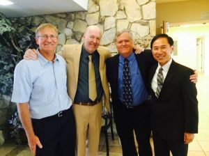 Steve, Dave, Jim and Ken @ VBC August 16, 2014