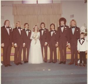 Jim's Wedding Party