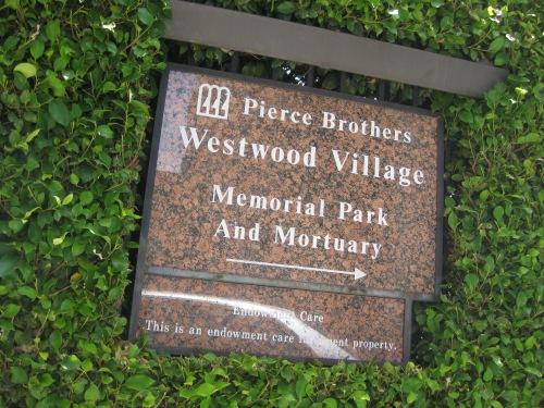 Trip to Westwood Memorial Park July 10, 2012 162