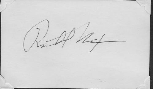 Richard Nixon Signature 001